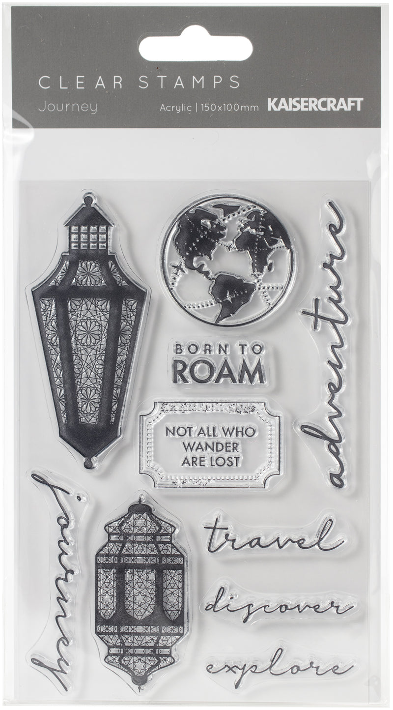 "Journey Clear Stamps 6""X4""- - Pens N More"