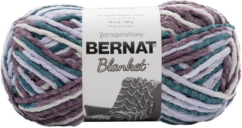 Bernat Blanket Big Ball Yarn-Elderberry - Pens N More