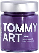Tommy Art Chalk-Based Mineral Paint 140ml-Plum