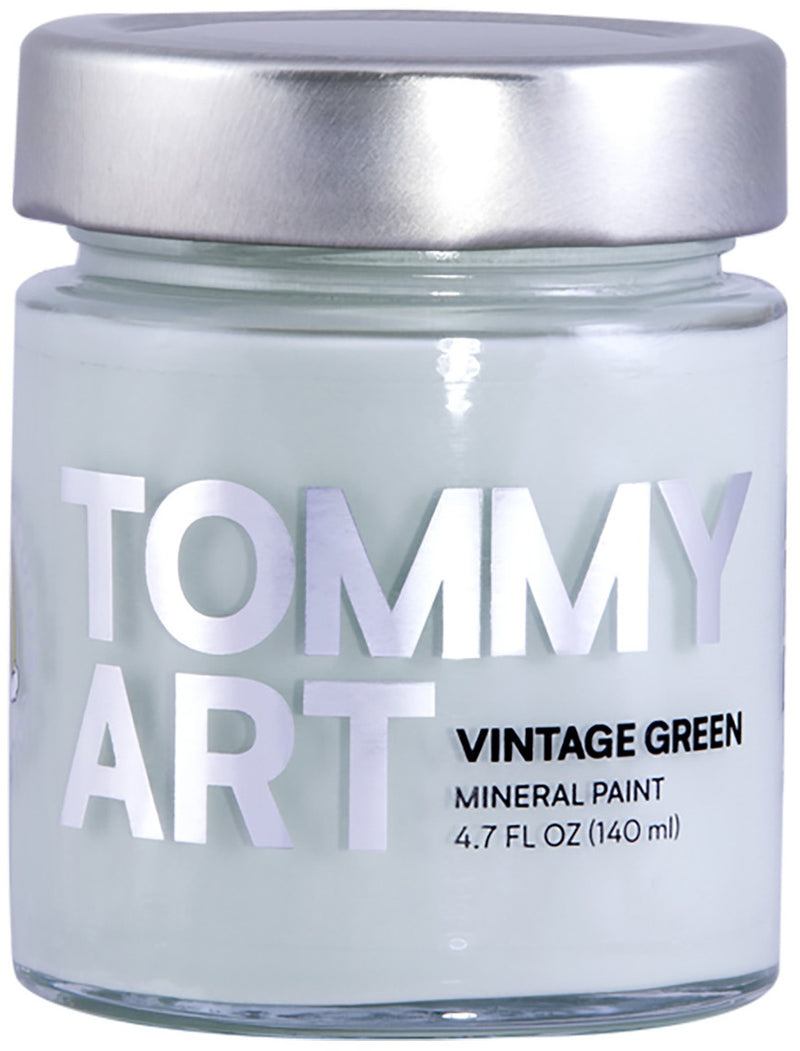 Tommy Art Chalk-Based Mineral Paint 140ml-Vintage Green