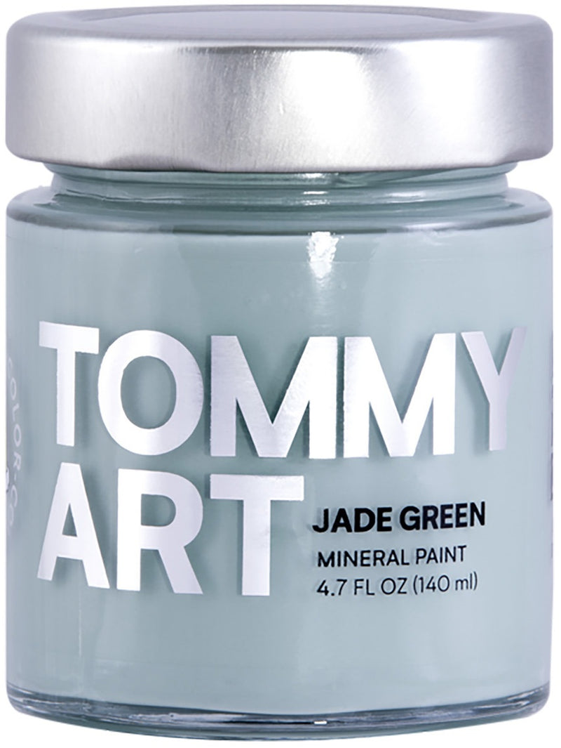 Tommy Art Chalk-Based Mineral Paint 140ml-Jade Green