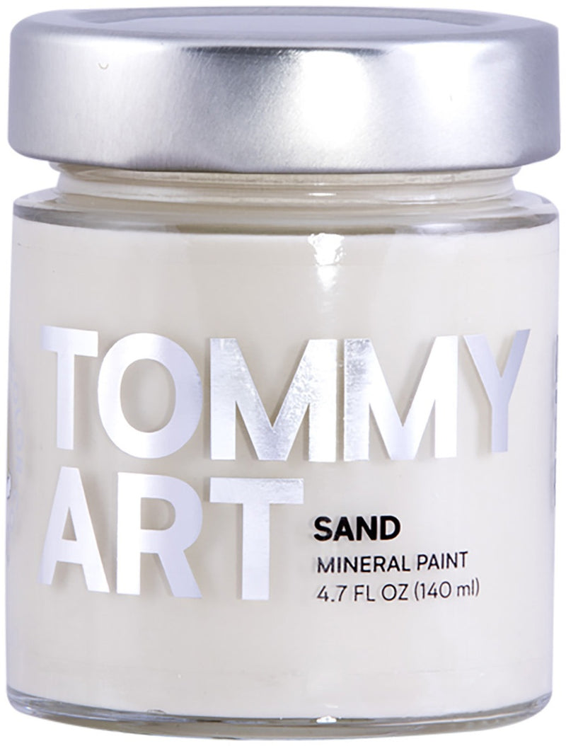 Tommy Art Chalk-Based Mineral Paint 140ml-Sand