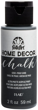 FolkArt Home Decor Chalk Paint 2oz-Maui Sand - Pens N More