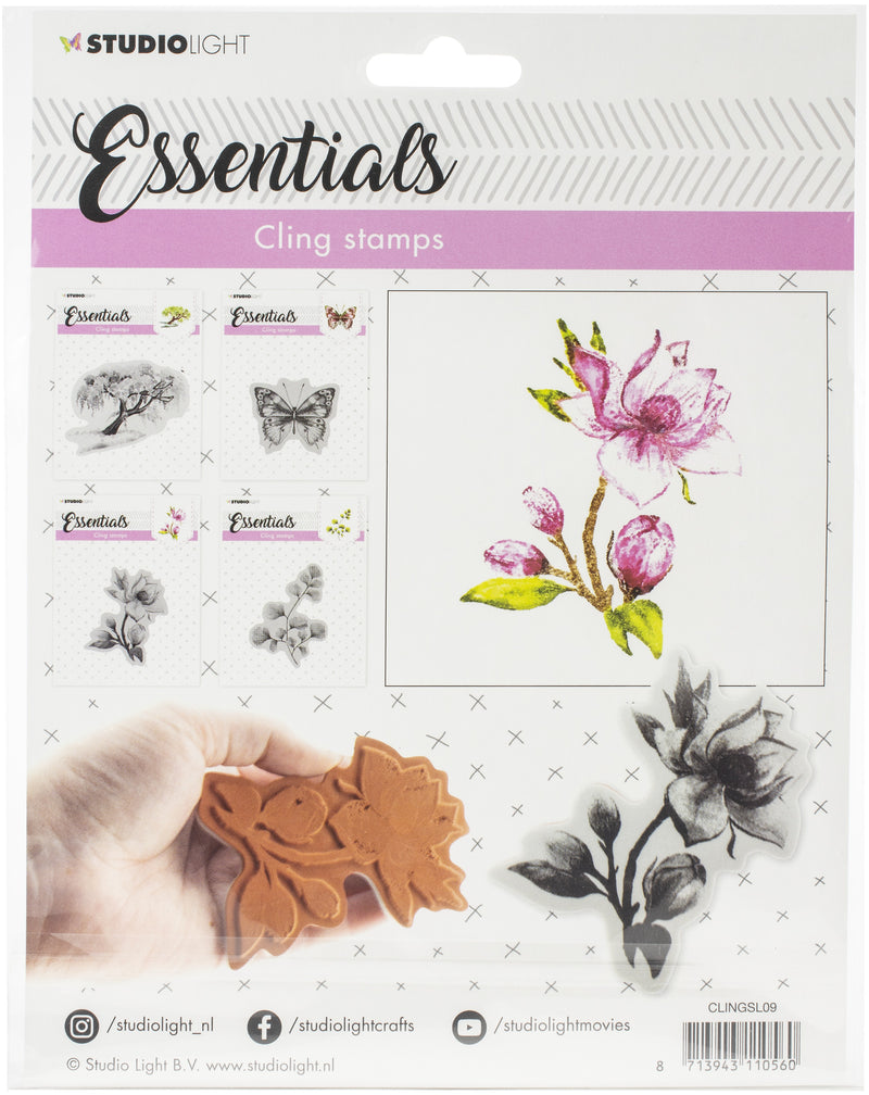 Studio Light Essentials Cling Stamps-NR. 09 - Pens N More