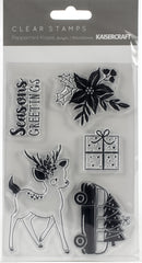 "Kaisercraft Clear Stamp 6""X4""-Peppermint Kisses - Pens N More"