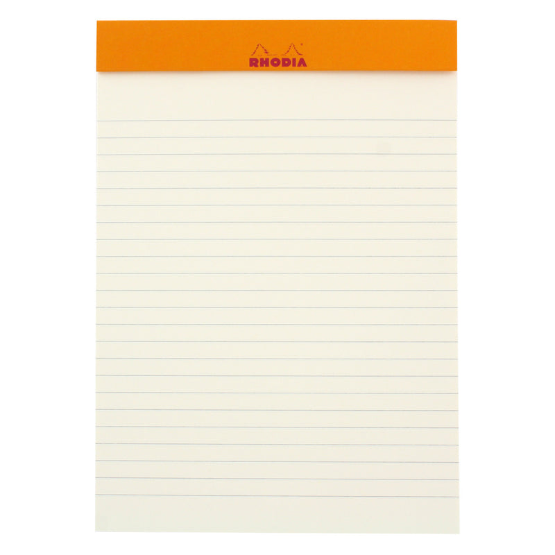 Rhodia Color A5 No. 16 Premium Stapled Lined Notepad, 70 Sheets, 6 x 8 1/4 -Turquoise