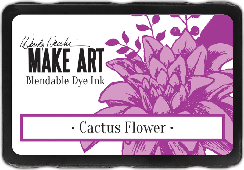 Wendy Vecchi Make Art Dye Ink Pads-Cactus Flower - Pens N More