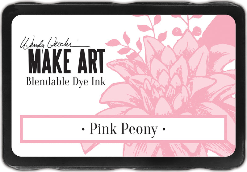Wendy Vecchi Make Art Dye Ink Pads-Pink Peony - Pens N More