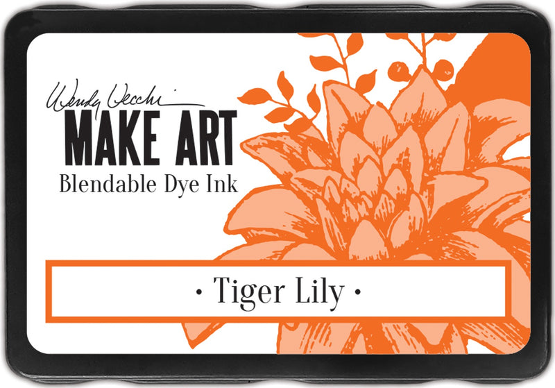 Wendy Vecchi Make Art Dye Ink Pads-Tiger Lily - Pens N More