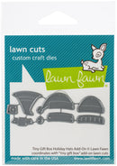 Lawn Cuts Custom Craft Die-Tiny Gift Box Holiday Hats Add-On - Pens N More