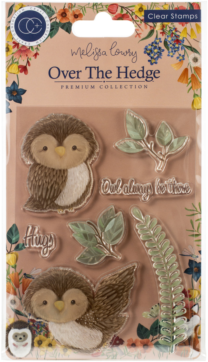 Craft Consortium A5 Clear Stamps-Olivia The Owl - Pens N More