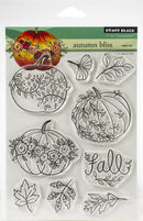 "Penny Black Clear Stamps-Autumn Bliss 5""X6.5"" - Pens N More"