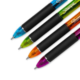 Sharpie Liquid Mechanical Pencils with 6 Eraser Refills, 0.5mm, Fashion Colors, 4-Pack (1801864)