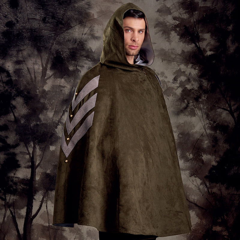 Simplicity Misses', Men's and Teens' Cape Costumes-ONE SIZE - Pens N More