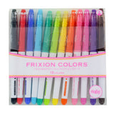 Pilot FriXion Colors Erasable Markers, Assorted Colors, Pack of 12