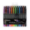 Thornton's Office Supplies Novice Disposable Fountain Pens, Fine Point, Assorted Colors, Pack of 12 - Pens N More