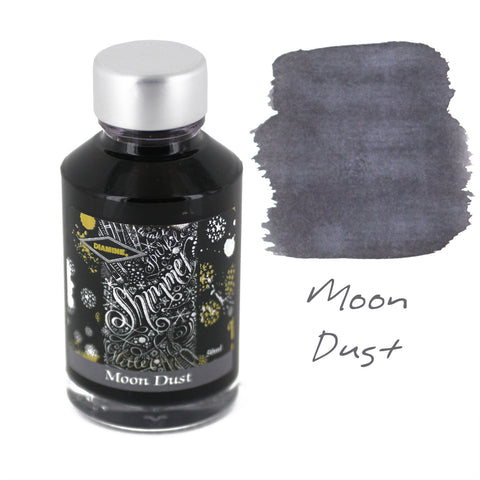 Diamine Fountain Pen Bottled Ink, 50ml - Shimmering Moon Dust