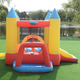 Inflatable Slide Mighty Bounce House Jumper Castle Moonwalk Without Blower