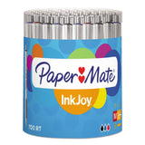 Paper Mate InkJoy 700RT Retractable Ball Point Pen, 1.0mm, Medium Point, White Barrel, Assorted Colors, 36-Count