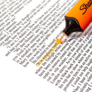 Sharpie Clear View Highlighter, Chisel Tip, Orange, Each