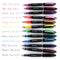 Thornton's Office Supplies Disposable Fountain Pens, Fine Point, Brown Ink, Pack of 12 - Pens N More