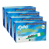 Expo Original Dry Erase Whiteboard Markers, Chisel Tip, Green Ink, 48-Count
