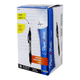 Paper Mate Profile Retractable Ball Point Pen, 1.4mm, Bold Point, Black Ink, Pack of 36