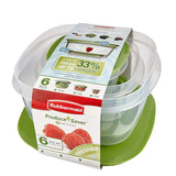 Rubbermaid Produce Saver Plastic Food Storage Containers, 6-Piece Set