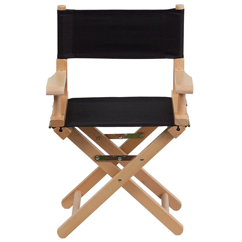 Flash Furniture Kid Size Directors Chair - Black