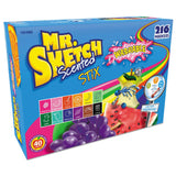 Mr. Sketch Scented Stix Washable Markers, Fine-Tip, Assorted Colors, 216-Count