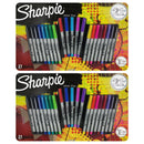Sharpie Permanent Markers, Ultra Fine Point, Assorted Colors, Set of 42