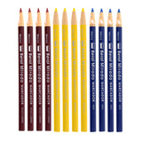 Berol Mirado Peel Off China Marker, Assorted Colors, Pack of 48