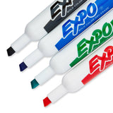 Expo Original Ink Dry Erase Markers, Chisel Tip, Assorted Colors, Pack of 4 (83074)