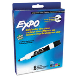 Expo Original Ink Dry Erase Markers, Chisel Tip, Assorted Colors, Pack of 8