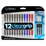 Thornton's Office Supplies ClearGrip Mechanical Pencil Starter Set, 0.7mm, Assorted Business Colors, Pack of 12
