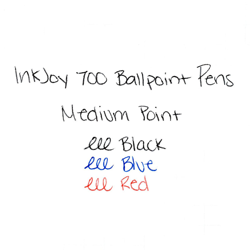 Paper Mate InkJoy 700RT Retractable Ball Point Pens, 1.0mm, Medium Point, Assorted Colors, Pack of 24