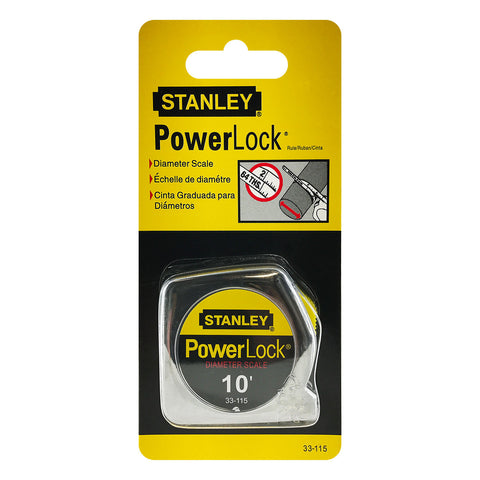 Stanley 10-Foot-by-1/4-Inch PowerLock Pocket Measuring Tape Ruler, Set of 12