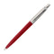 Parker Jotter Red CT Retractable Ballpoint Pen, Medium with 5 Thornton's Luxury Goods Ballpoint Pen Refills, Medium, Blue Ink