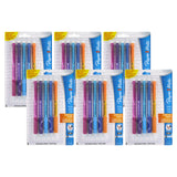 Paper Mate Write Bros Grip Mechanical Pencils, 0.5mm, HB #2, Assorted Colors, 30 Count