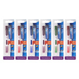 Paper Mate Clear Point Mechanical Pencil, 0.5mm, Stater Kit, Set of 6 (Colors May Vary)
