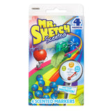 Mr. Sketch Scented Markers, Chisel-Tip, Assorted Colors, 12-Count