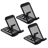 Rolodex Mesh Collection Mobile Device and Tablet Stand, Black, Pack of 3