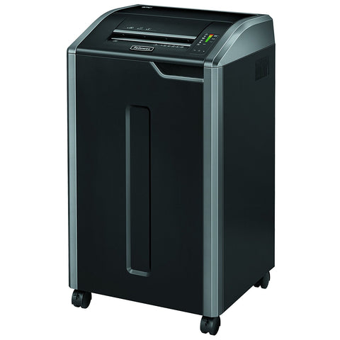 Fellowes Refurbished Powershred 425i 100% Jam Proof Commercial Grade 38-Sheet Strip-Cut Paper Shredder, TAA Compliant