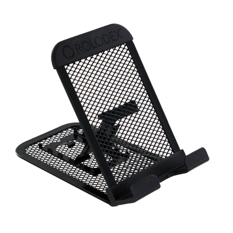 Rolodex Mesh Collection Mobile Device and Tablet Stand, Black