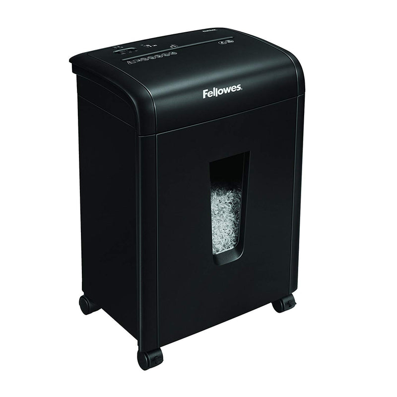 Fellowes Refurbished 62MC 10-Sheet Micro-Cut Home and Office Paper Shredder with Safety Lock for Added Protection - Pens N More