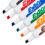 Expo Original Dry Erase Set, Chisel Tip, Assorted Colors, 7-Piece with Organizer