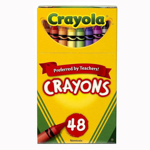 Crayola Classic Color Crayons, 48 Assorted Colors, 48/Box (52-0048)