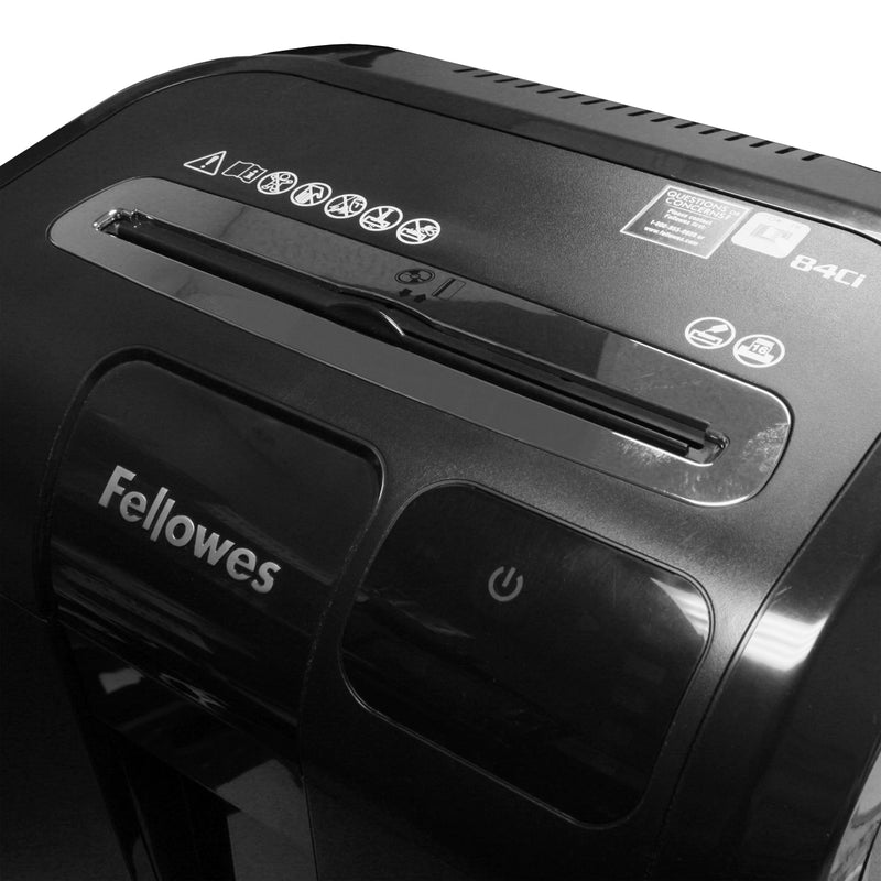 Fellowes Refurbished Powershred 84ci 100% Jam Proof Cross Cut Paper Shredder (1 Year Manufacturer Warranty)
