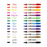 Thornton's Art Supply Oil-Based Paint Markers, Medium Point, Red Ink