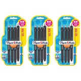 Paper Mate InkJoy Gel Retractable Pens, 0.7mm, Medium Point, Black Ink, 12-Count